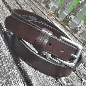 Genuine Leather Belt Lifetime Premium Italian XL